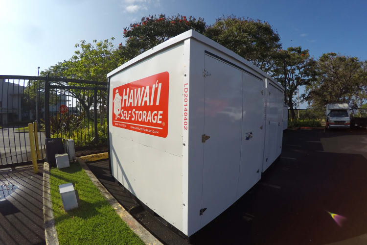We've got storage pods and more at Hawai'i Self Storage in Mililani