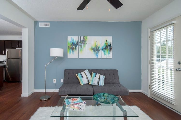 Ample living space in our apartments at The Gallery in Clemson, SC