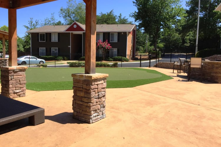 If you like golf, you'll love our on-site putting green at Abbots Glen