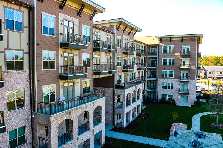 townhomes research triangle park