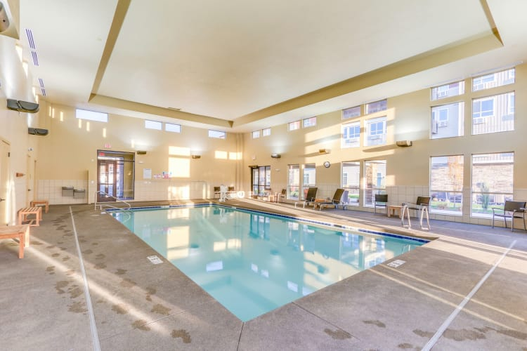Affinity at Southridge indoor saltwater pool