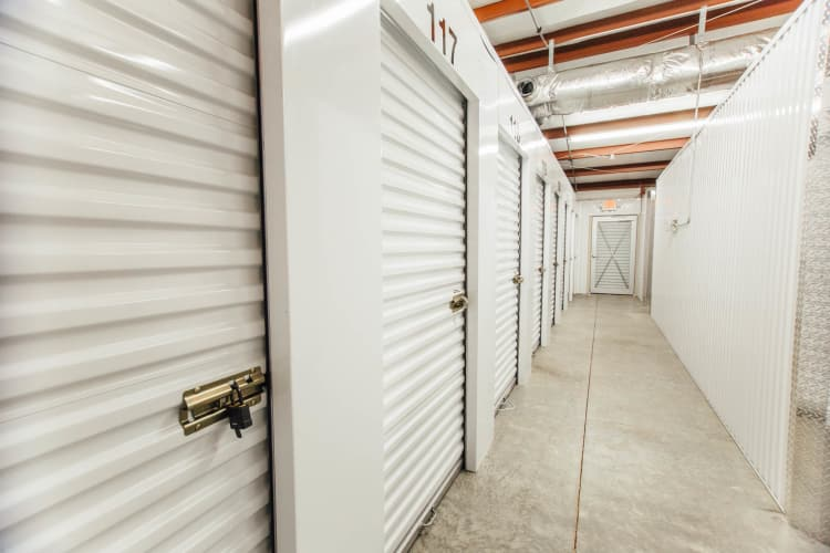 Climate controlled storage units in Durham