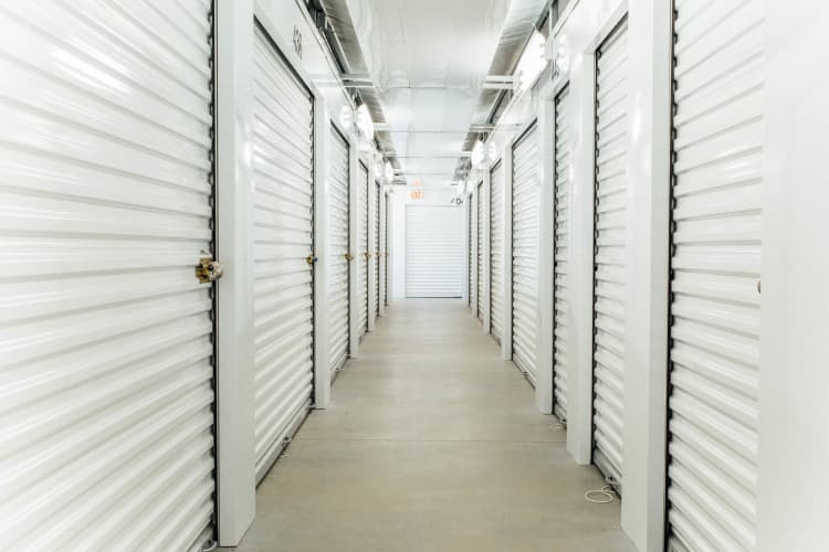 Climate controlled storage units in Concord