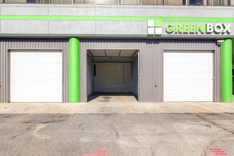 RV storage available at Greenbox Self Storage in Denver, Colorado