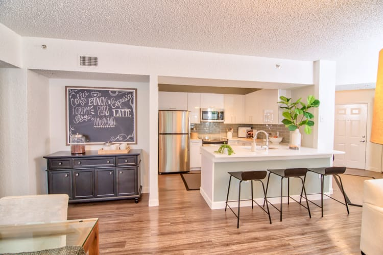 Our Apartments in Jupiter, Florida showcase a Beautiful Kitchen