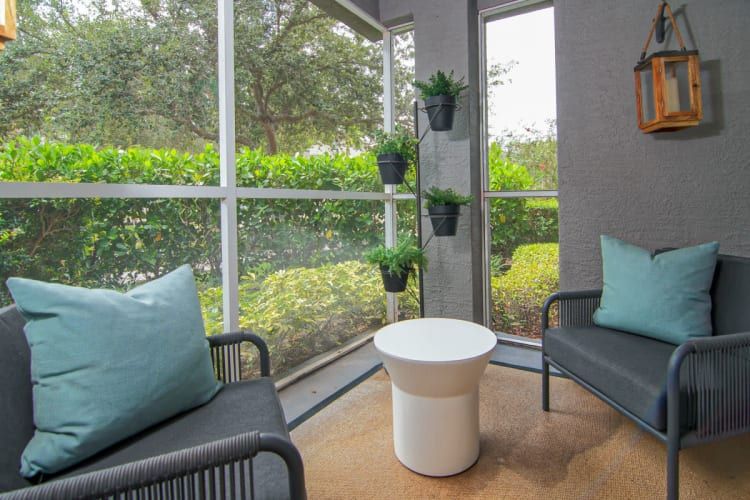 Sun Room at The Sophia at Abacoa in Jupiter, Florida