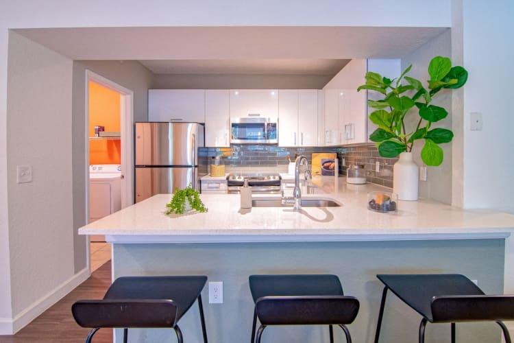 Kitchen at The Sophia at Abacoa in Jupiter, Florida
