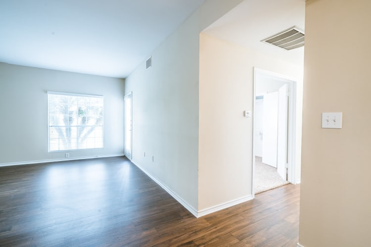 Spacious home with large windows for plenty of natural light at Azure Apartments in Corpus Christi, Texas