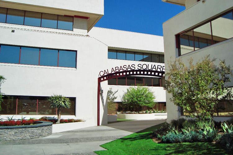 Entrance at Calabasas Square in Calabasas, California
