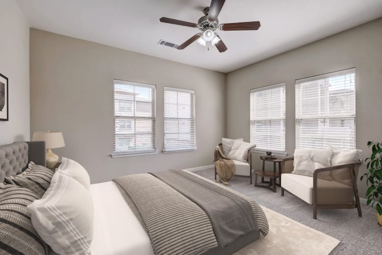 Beautiful Bedroom at Overlook Ranch in Fort Worth, Texas