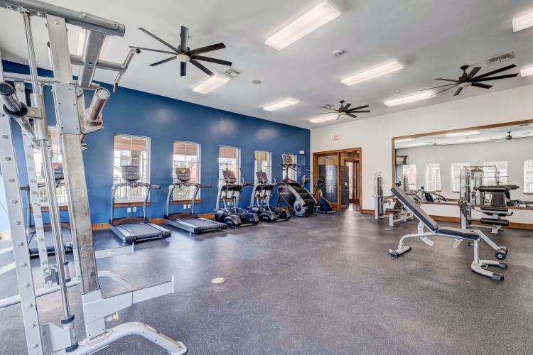 Our Apartments in Fort Worth, Texas offer a Gym