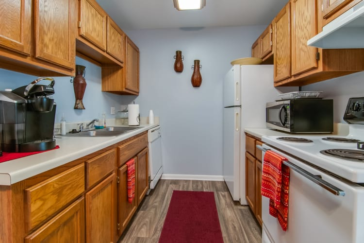 Apartment Features at Concorde Club Apartments in Romulus, Michigan