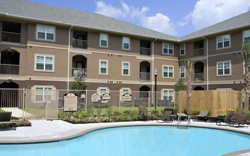 Enjoy a refreshing swimming pool at North Shore Apartment Homes in Slidell, Louisiana