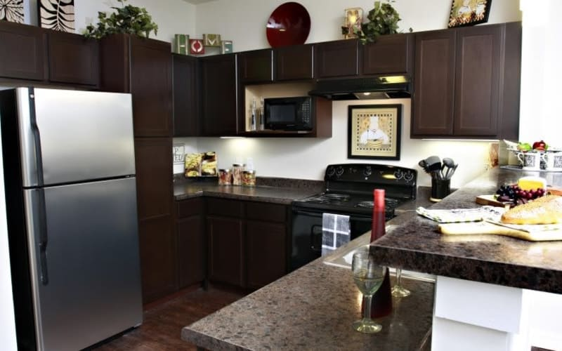 The Marquis Apartment Homes offers a state-of-the-art kitchen in New Orleans, Louisiana