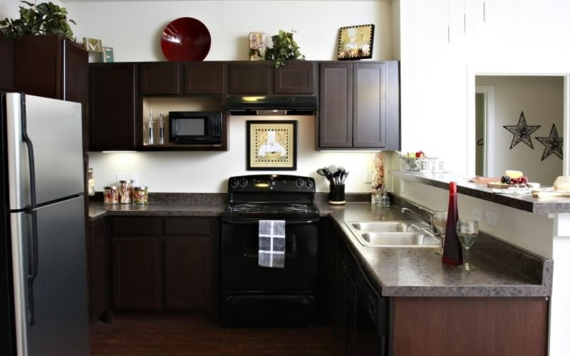 Enjoy a well-equipped kitchen at The Marquis Apartment Homes in New Orleans, Louisiana