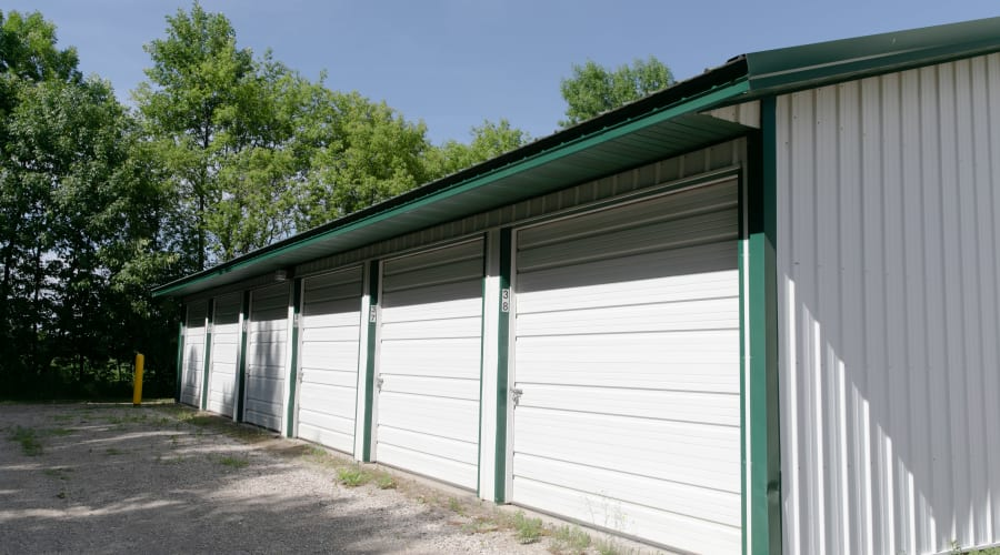 Exterior of outdoor units at KO Storage of South Haven in South Haven, Minnesota