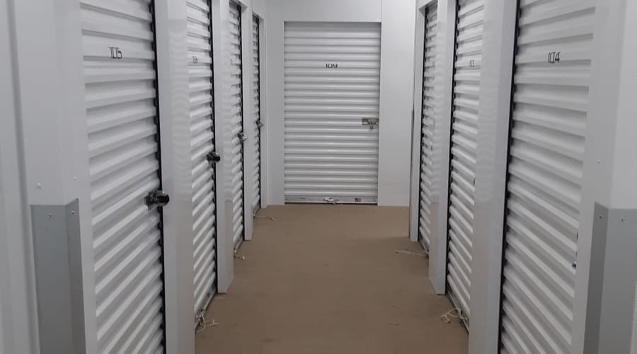 Temperature controlled units at KO Storage of Owatonna Climate Controlled in Owatonna, Minnesota