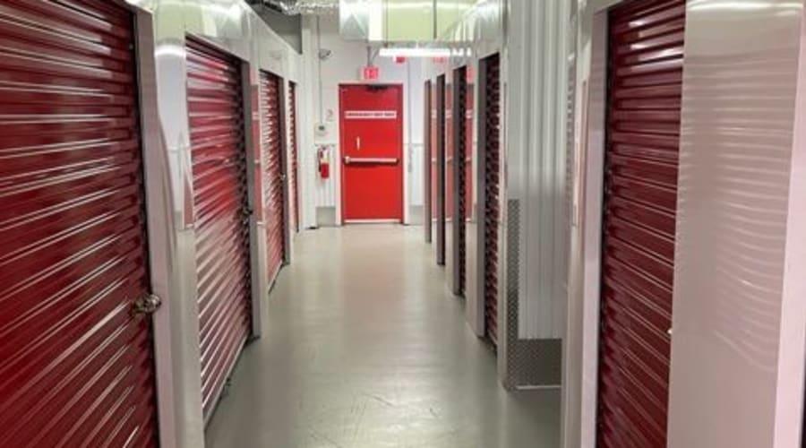 The interior storage units at KO Storage of Jamestown - South in Jamestown, North Dakota