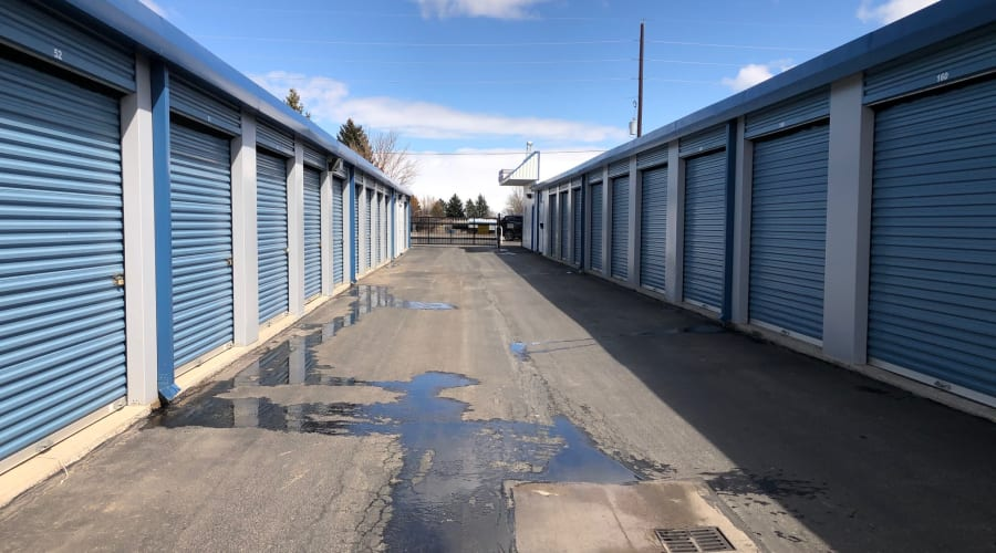Drive up storage units available for rent at KO Storage of Cheyenne in Cheyenne, Wyoming
