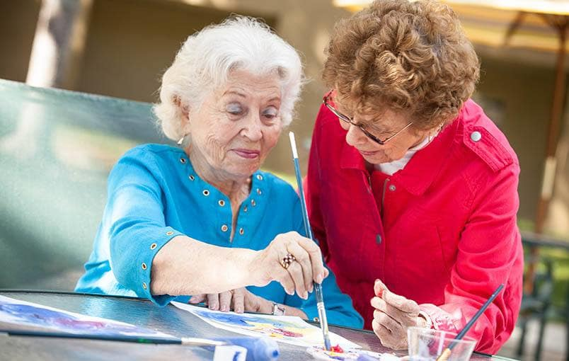 View our community offerings for senior living at Woodland Terrace