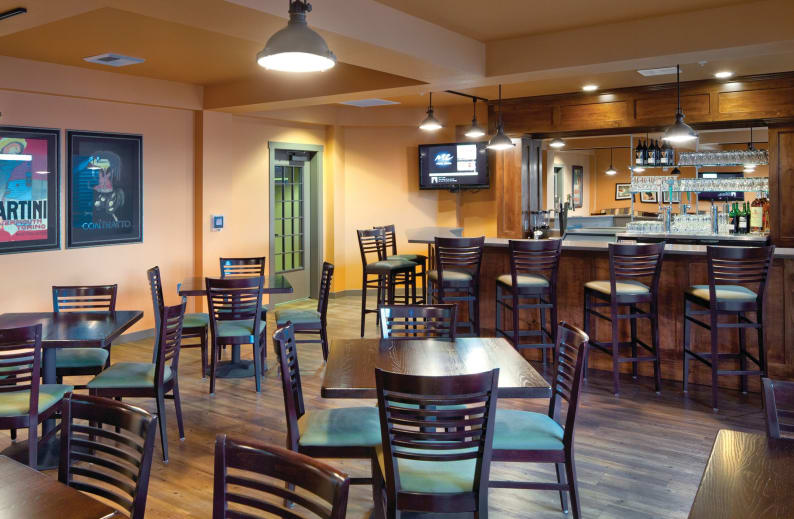 Affinity at Coeur d'Alene on-site pub