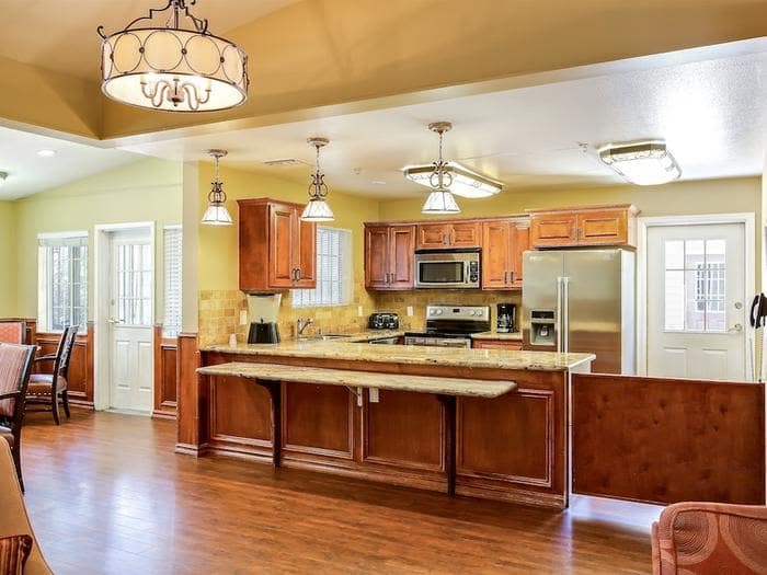 Luxury kitchen at Pacifica Senior Living Tucson in Tucson, AZ