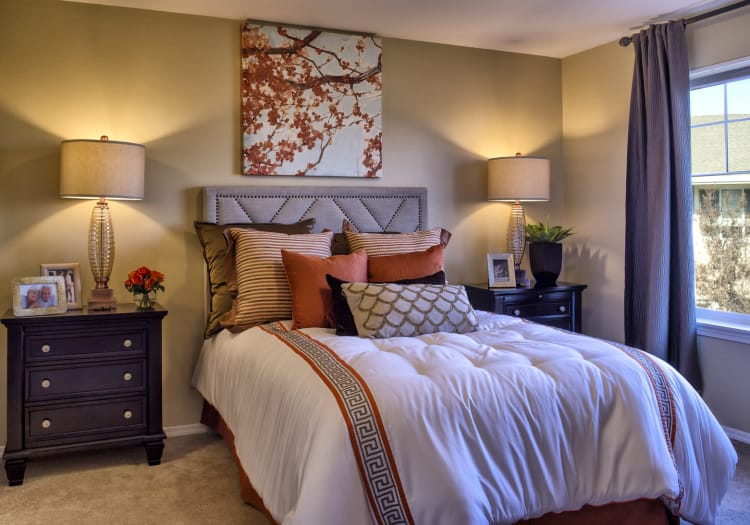 Bedroom at The Commons at Union Ranch in Manteca, California