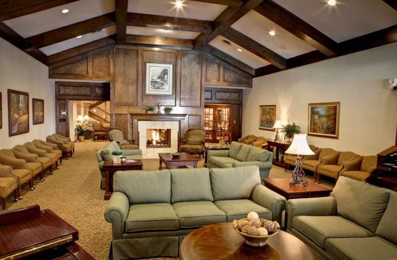 Grand Clubhouse at Country Club At Woodland Hills in Tulsa