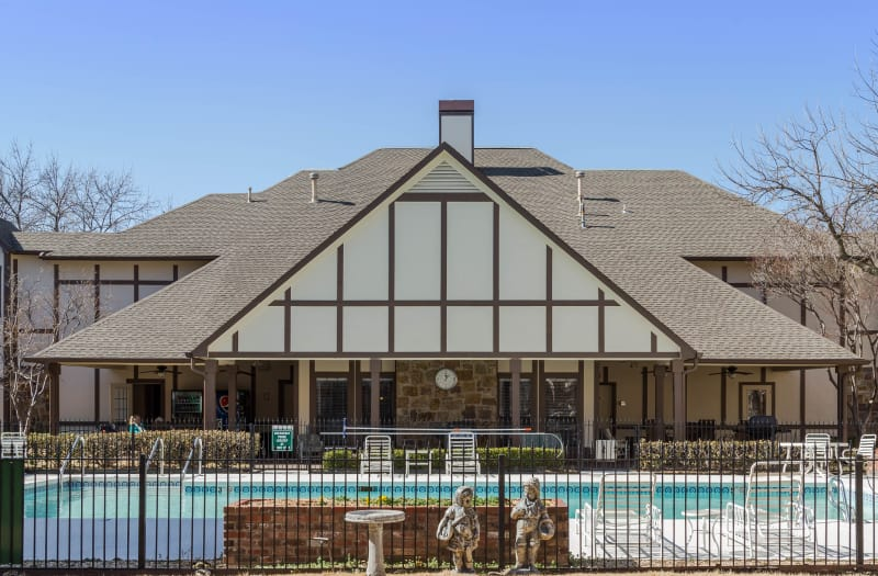 Pool at Country Club At Woodland Hills in Tulsa