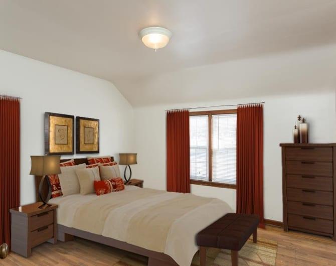 Bedroom at Park Place in Buffalo, NY