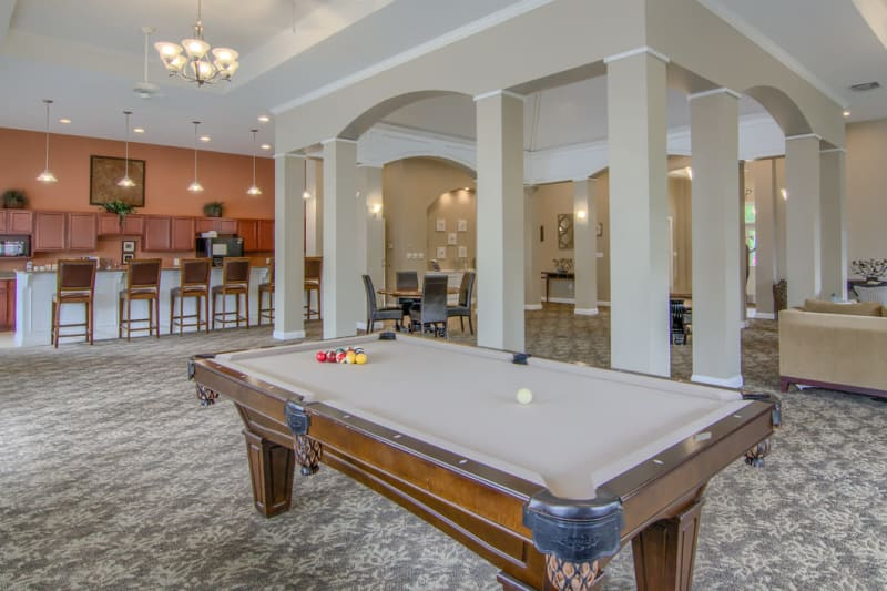 Beautiful clubhouse at Winchester Park in Groveport, Ohio