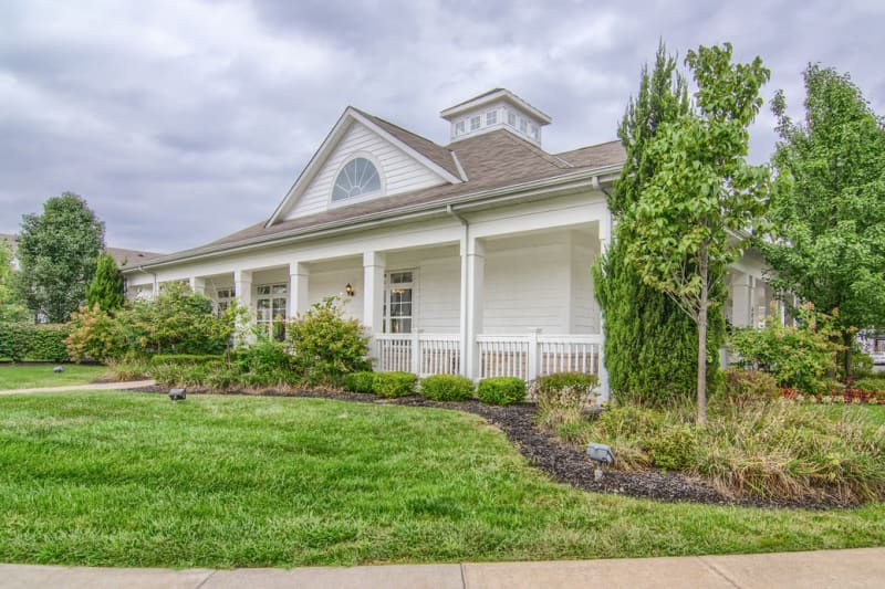 Beautiful exteriors at Winchester Park in Groveport, Ohio