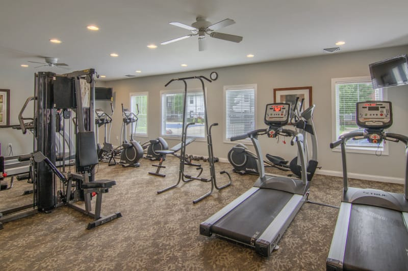 Fitness center at Winchester Park in Groveport, Ohio