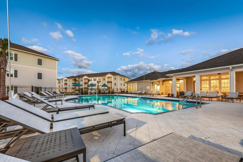 Swimming pool at Argyle at Oakleaf Town Center in Jacksonville, Florida
