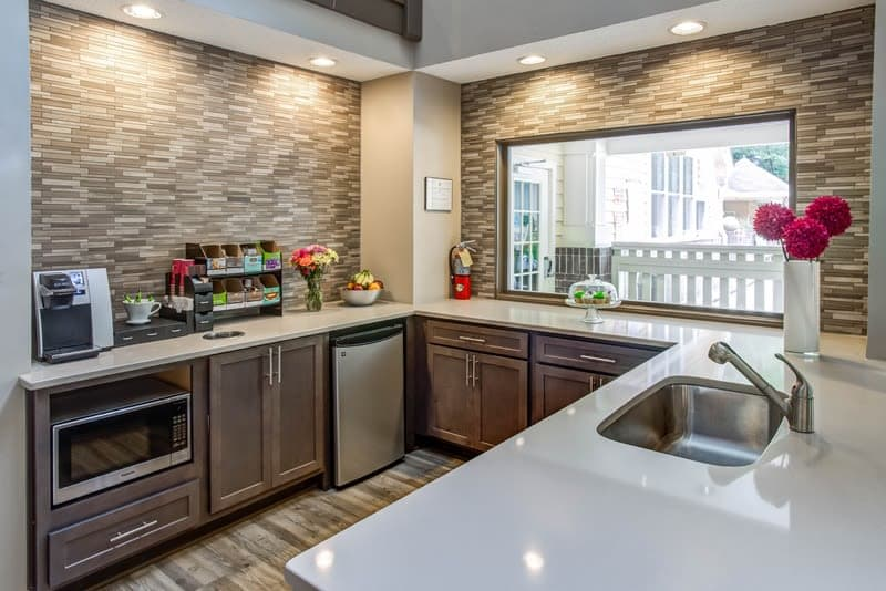 Fully equipped kitchen at Hamilton Ridge Apartments