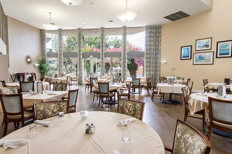 Luxurious dining at Welbrook Arlington