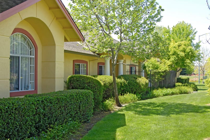 Map and directions to the senior living community in Petaluma