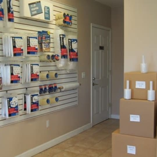 Packing supplies available at Michigan Storage Centers in Farmington Hills, Michigan