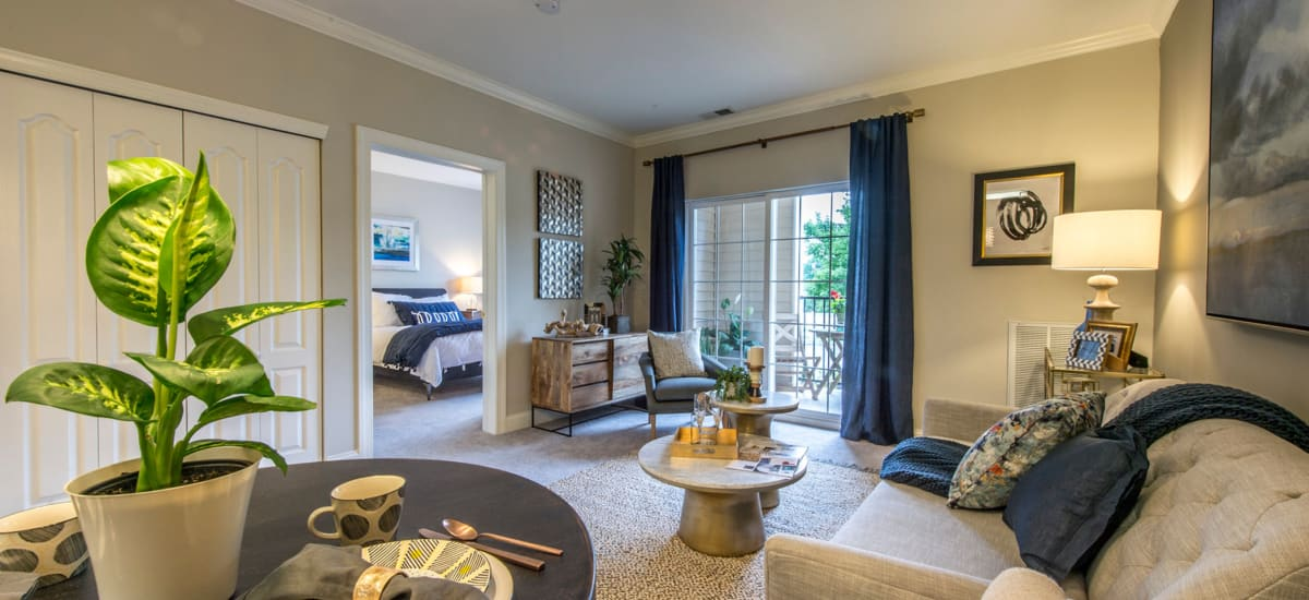 The Cove at Riverwinds offers ample living spaces in West Deptford