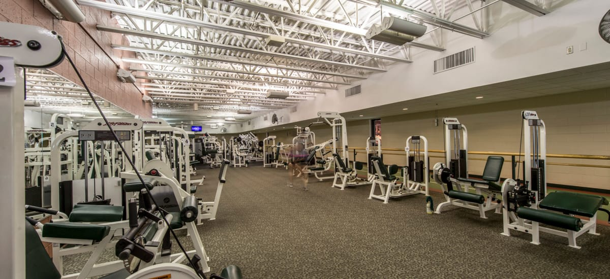 Stay healthy in the The Cove at Riverwinds fitness center