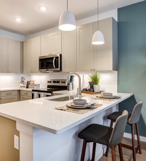 Beautiful Kitchen at 44 South | Apartments in Austin, TX