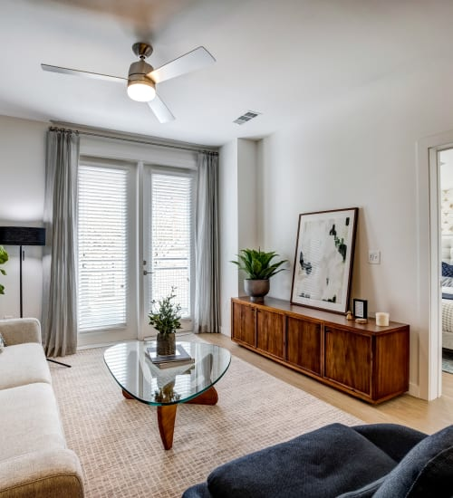 Beautiful Living Room at 44 South | Apartments in Austin, TX
