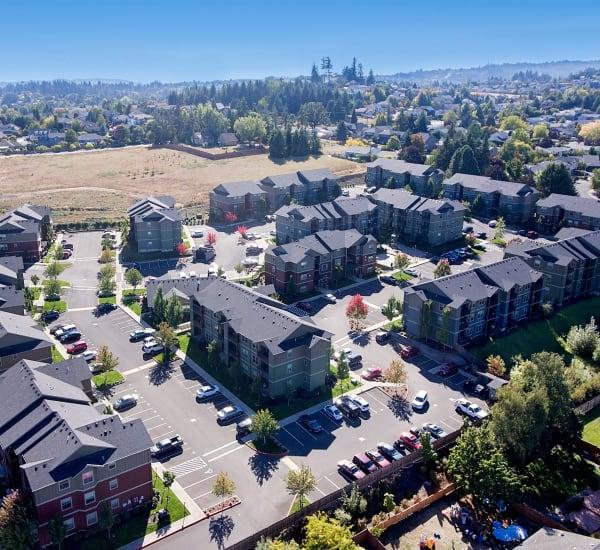Overview of  Salem, Oregon near Orchard Ridge