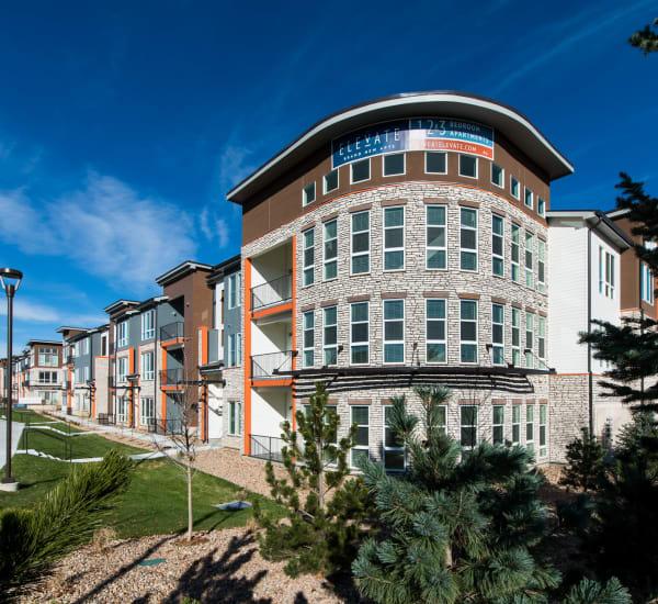 Enjoy the neighborhood at Elevate in Englewood, Colorado