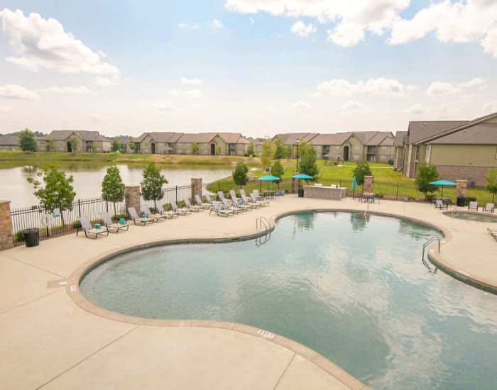 The Grove at Stone Park offers an outdoor swimming pool