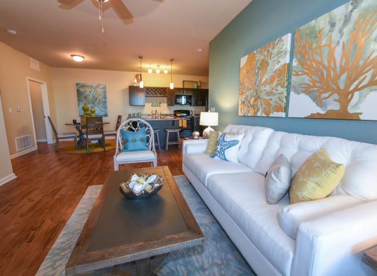 Springs at Port Charlotte living room in Port Charlotte