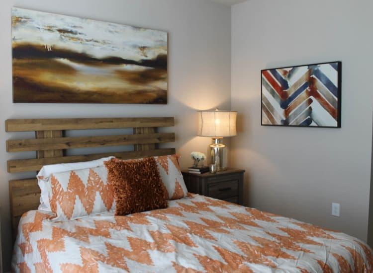 Springs at Hamburg model bedroom