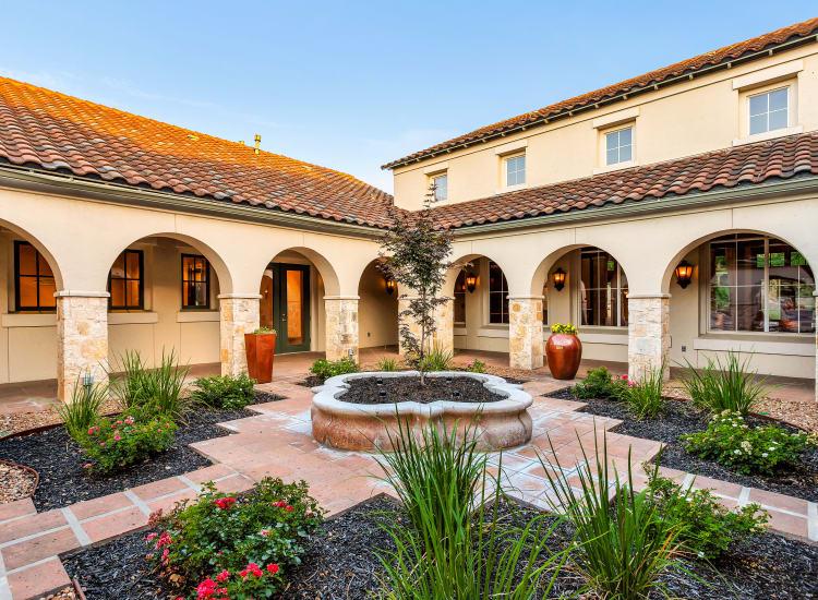 Clubhouse at Sedona Ranch Apartments in San Antonio, Texas