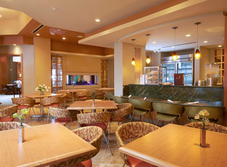 One of our casual dining areas at All Seasons Ann Arbor in Ann Arbor, Michigan
