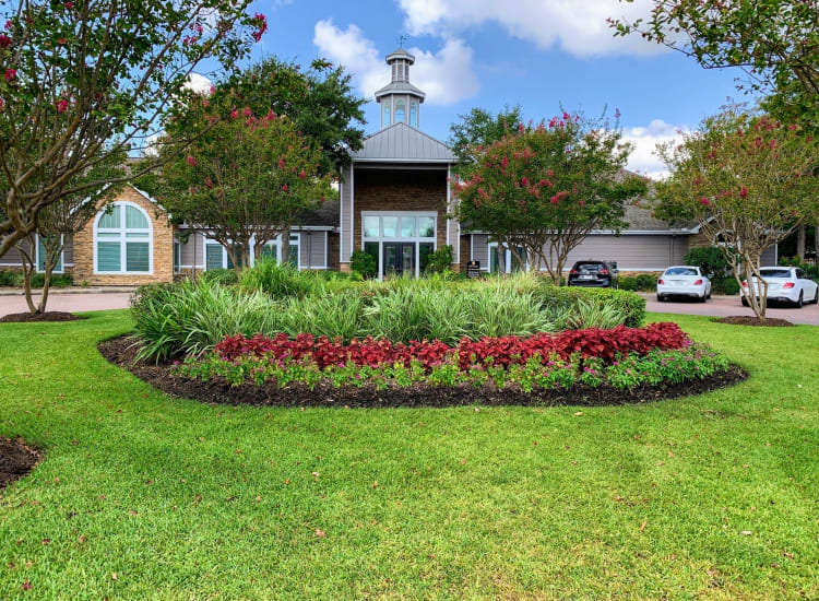 Entrance of Cornerstone Ranch Apartments in Katy, TX
